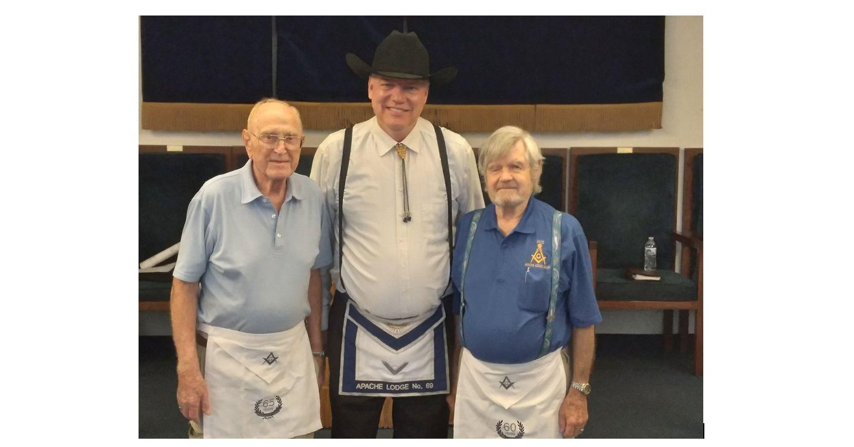 Arizona, U.S. - Masonic membership awards presented