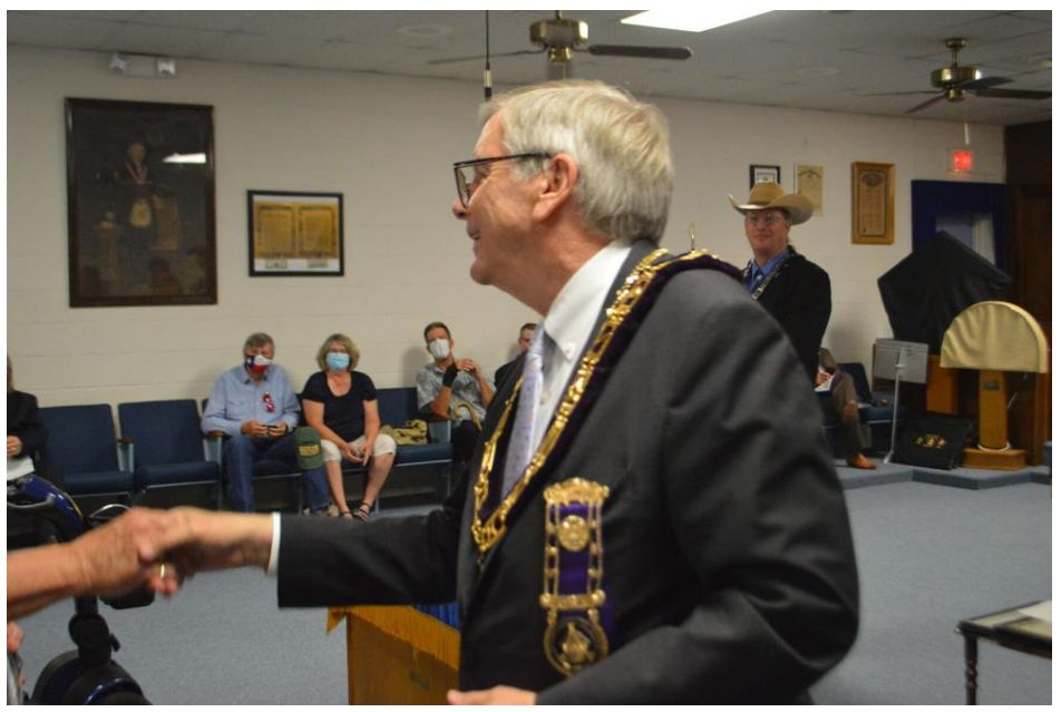 Texas/U.S. - Mount Hiram Masonic Lodge No. 595 AF&AM: Masonic members honored for their service