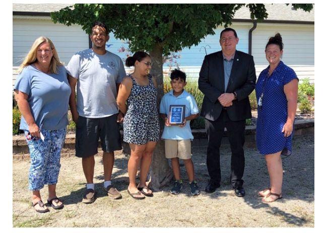 North Carolina/U.S. - Academy of Moore students receive Masonic Merit Awards