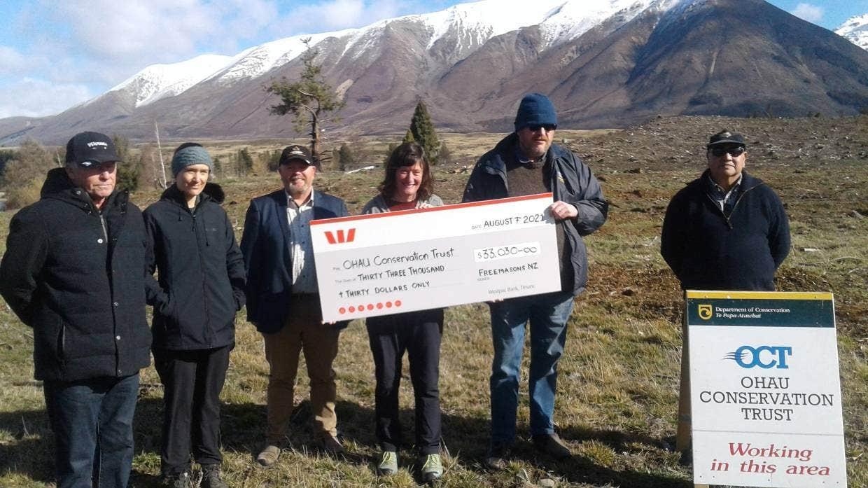 New Zealand - Freemasons boost land restoration work near fire-hit Lake Ōhau village