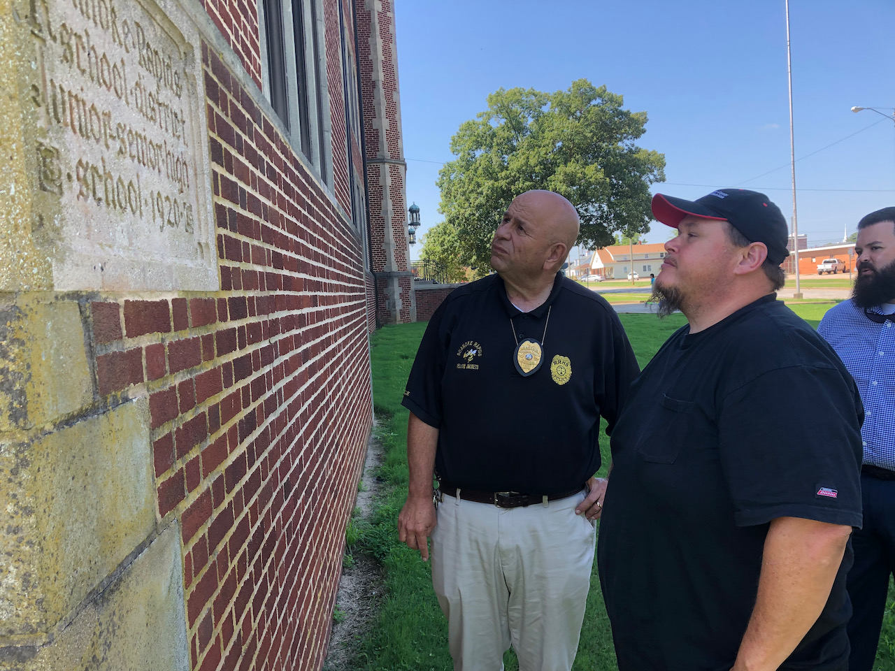 North Carolina/U.S. - Then and now, Masons to oversee RRHS cornerstone ceremony