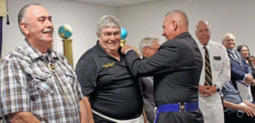 Texas/U.S. - Mt. Hiram Masonic Lodge No. 595 recognizes members for 25, 40 and 50 years of service in masonry
