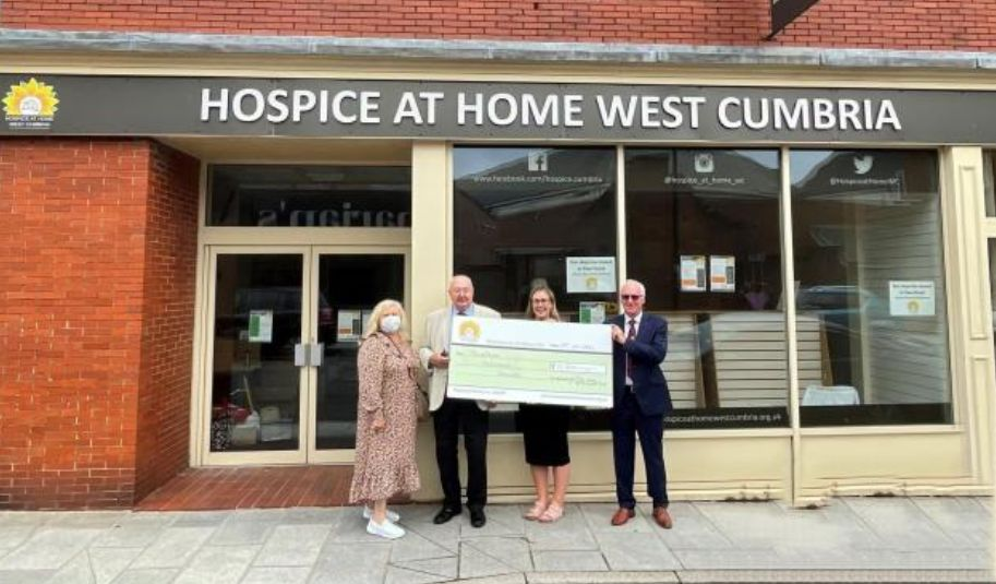England - Hospice at Home West Cumbria receives share of £1m Freemasons grant