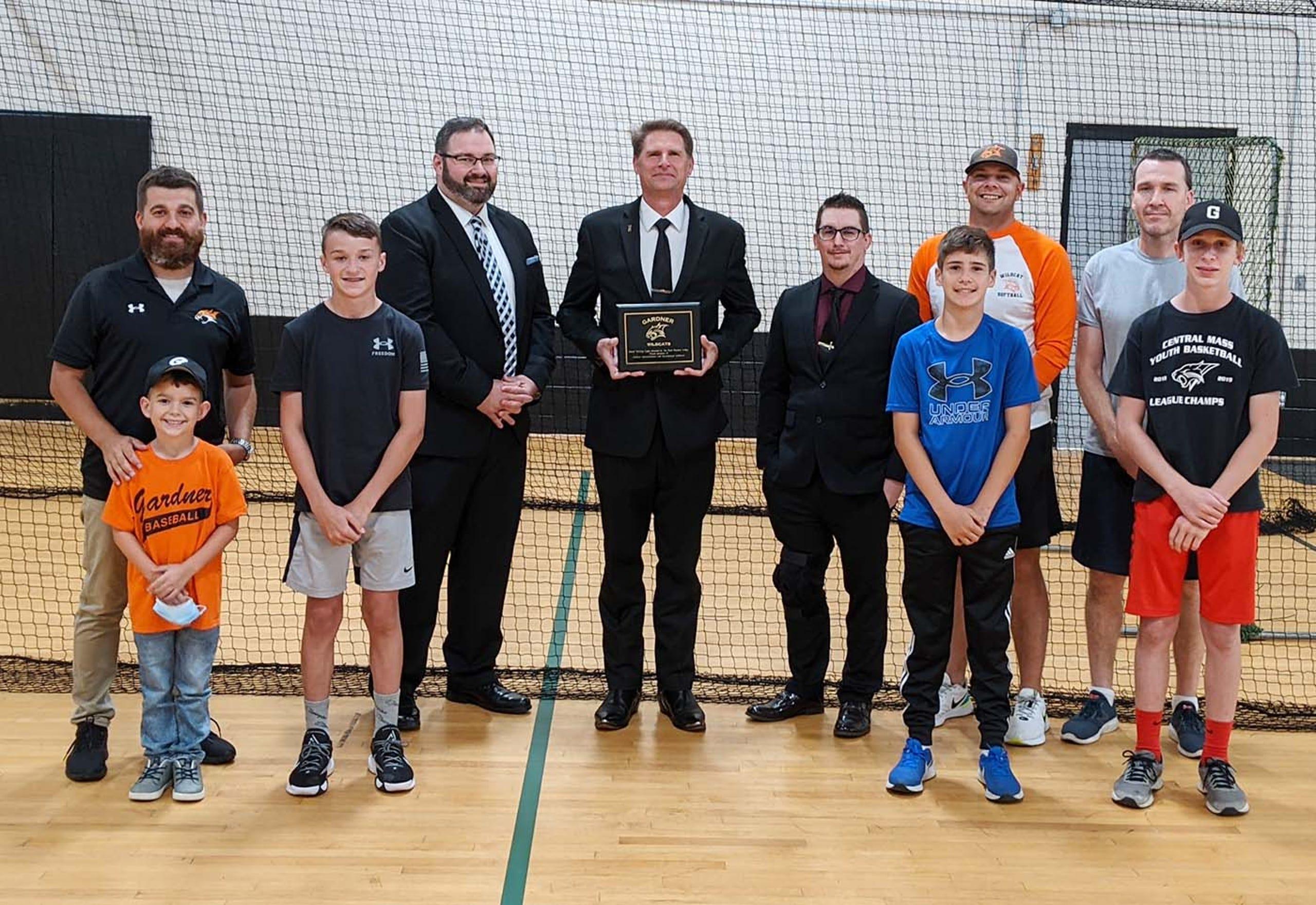Massachussets/U.S. - Hope Masonic Lodge celebrates 150th anniversary with donation to Gardner High athletics