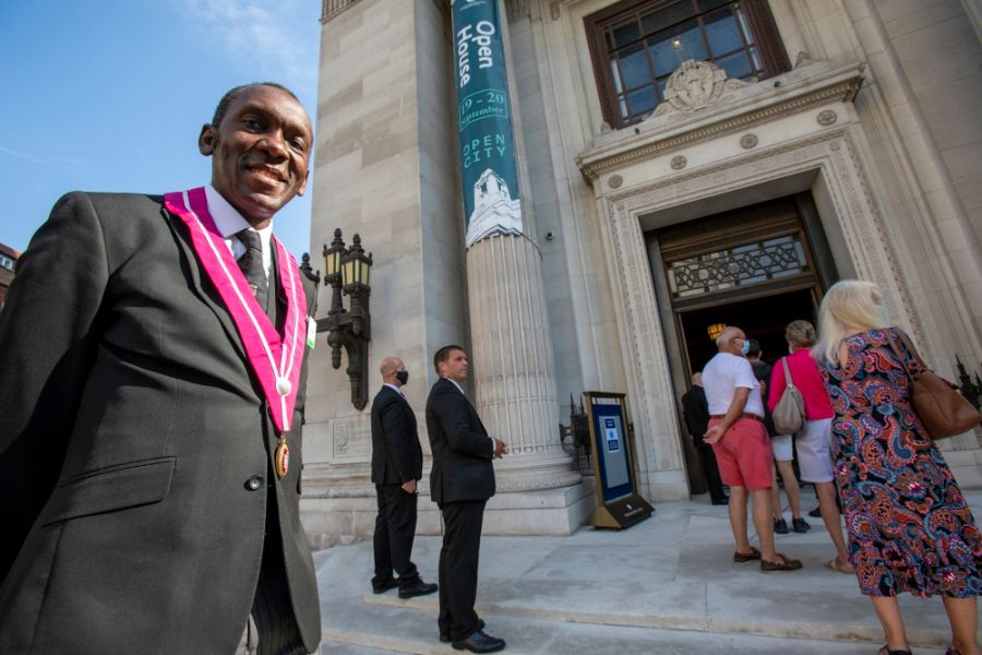 London/England - Freemason's Hall opens its doors with new digital tour