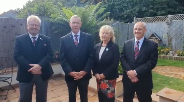 Hampshire/England - The Community Chest project officially launches at the Cosham Masonic Centre