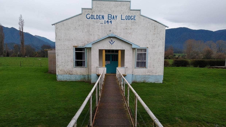 New Zealand - Peeling back the colourful past of Takaka's Masonic Hall