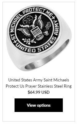 Masonic Military Ring at MasonicMan