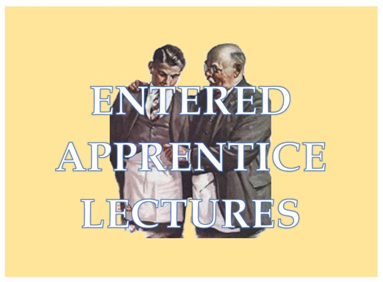 Entered Apprentice Lectures