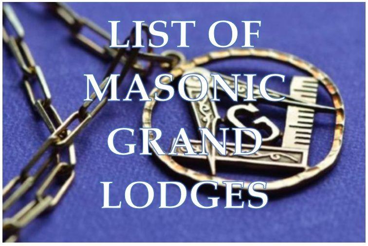 List of Masonic Lodges