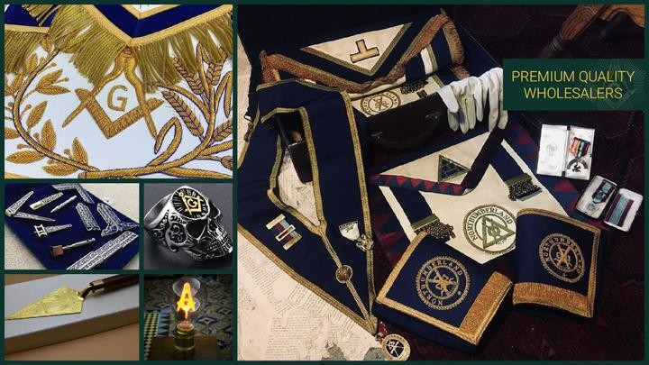 premium quality masonic regalia