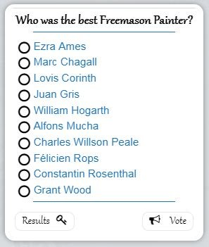 Who was the best Freemason Painter